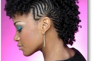 610x748px 6 Black Girls Mohawk Hairstyles Picture in Hair Style
