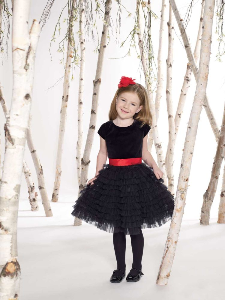 4 Black Little Girl Dresses in Fashion