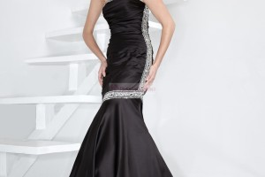 Fashion , 8 Long Black Mermaid Dress : black mermaid prom dress
