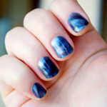 blue magnetic nail polish , 8 Magnetic Nail Polish Designs In Nail Category