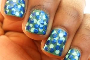 Nail , 6 Blue Prom Nail Designs : blue prom nail art