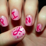 breast cancer nail art designs , 7 Breast Cancer Nail Designs In Nail Category