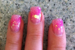736x985px 7 Breast Cancer Nail Designs Picture in Nail