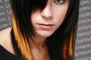 350x525px 6 Emo Hairstyles For Girls With Brown Hair Picture in Hair Style