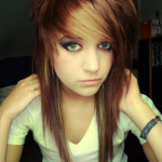 brown hair with emo haircuts , 6 Emo Hairstyles For Girls With Brown Hair In Hair Style Category
