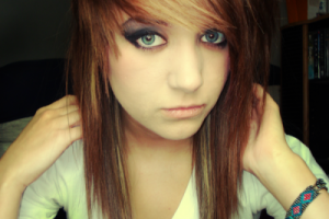 Hair Style , 6 Emo Hairstyles For Girls With Brown Hair : brown hair with emo haircuts