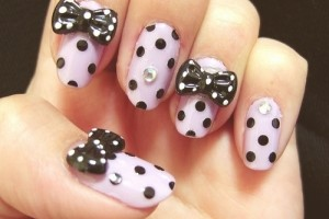 500x375px 7 Bow Nail Designs Picture in Nail
