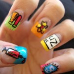 cartoon nail art designs , 7 Cartoon Nail Designs In Nail Category