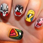 cartoon nail designs , 7 Cartoon Nail Designs In Nail Category