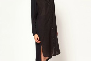 Fashion , 9 Casual Long Black Dress : casual long sleeve black dress