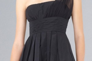 Fashion , 9 Styles Of One Shoulder Little Black Dress : cheap one shoulder little black dress