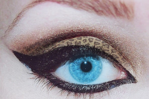 Make Up , 7 Cheetah Inspired Eye Makeup : cheetah eye makeup inspiring
