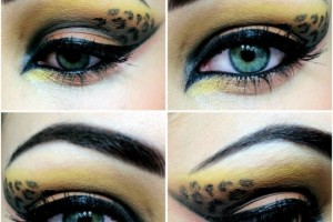 550x550px 7 Cheetah Inspired Eye Makeup Picture in Make Up