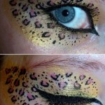 cheetah eyeshadow , 7 Cheetah Inspired Eye Makeup In Make Up Category