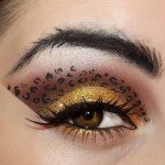 cheetah inspired eye makeup , 7 Cheetah Inspired Eye Makeup In Make Up Category