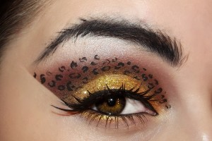 Make Up , 7 Cheetah Inspired Eye Makeup : cheetah inspired eye makeup