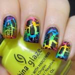 china glaze crackle nail polish , 6 Crackle Nail Designs In Nail Category