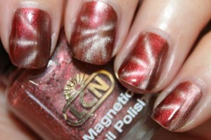 Nail , 8 Magnetic Nail Polish Designs : cool magnetic nail polish