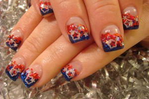 Nail , 6 Fourth Of July Nail Designs : cute 4th of july nail designs