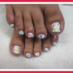 cute toenail design ideas , 7 Crackle Toe Nail Designs In Nail Category