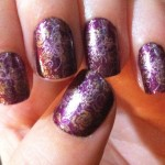 deep Purple prom nails art , 6 Purple Prom Nail Designs In Nail Category