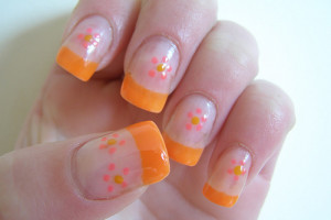 500x375px 3 Simple Nail Art Designs For Short Nails Picture in Nail