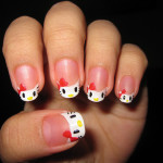 Easy Hello Kitty Nail Designs , 6 Hello Kitty Nail Designs In Nail Category
