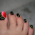 easy toe nail designs , 7 Crackle Toe Nail Designs In Nail Category