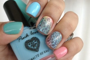 500x363px 6 Turquoise Nail Designs Picture in Nail