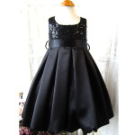 flower girl dresses for toddlers , 4 Black Little Girl Dresses In Fashion Category