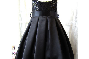 500x500px 4 Black Little Girl Dresses Picture in Fashion