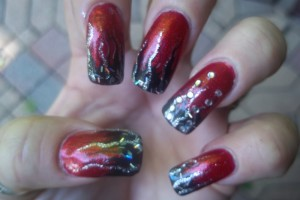 Nail , 6 Freehand Nail Art Designs : freehand nail art designs 1