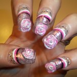 freehand nail art designs 2 , 6 Freehand Nail Art Designs In Nail Category