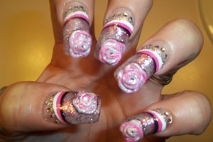 Nail , 6 Freehand Nail Art Designs : freehand nail art designs 2