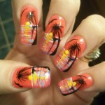 freehand nail art designs 5 , 6 Freehand Nail Art Designs In Nail Category