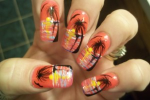 Nail , 6 Freehand Nail Art Designs : freehand nail art designs 5