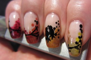 Nail , 6 Freehand Nail Art Designs : freehand nail art designs 6
