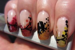 Nail , 6 Freehand Nail Art Designs : freehand nail art designs 6