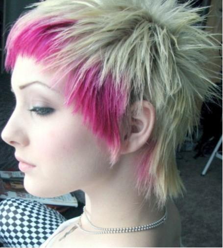 Surprising Funky Short Emo Hairstyles 5 Emo Hairstyles For Girls With Short Short Hairstyles Gunalazisus