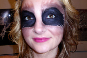 Make Up , 7 Raccoon Eyes Makeup : funny Raccoon Eyes