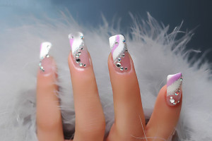 Nail , 6 Gel Nail Design Ideas : gel nail art style