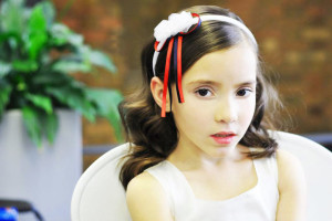 Hair Style , Hairstyles For Junior Bridesmaids : hairstyles-band-for-junior-bridemaid