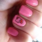 Hello Kitty Acrylic Nail Designs , 6 Hello Kitty Nail Designs In Nail Category