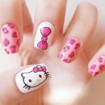 Hello Kitty Nail Art , 6 Hello Kitty Nail Designs In Nail Category