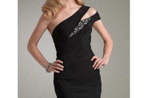 Fashion , 7 Hot Little Black Dress : hot black prom dress