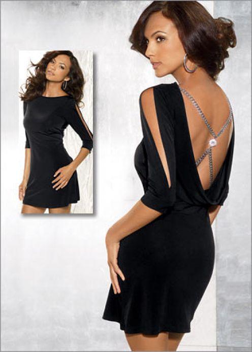 Fashion , 7 Hot Little Black Dress : Hot Party Dresses