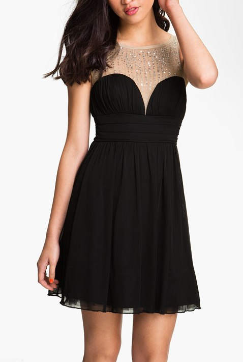 Fashion , 8 Junior Little Black Dresses :  Junior Homecoming Dresses
