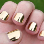 lighting gold nails polish , 6 Gold Nail Polish Ideas In Nail Category