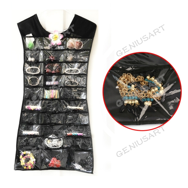 Jewelry , 6 Little Black Dress Jewelry Hanger : Little Black Dress Jewelry Organizer Umbra