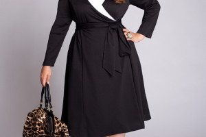 Fashion , 11 Little Black Dresses Plus Size Women : little black dress plus size women